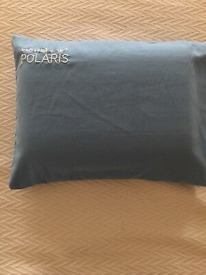 United Airlines Polaris Business / First Cool Gel Memory Foam Pillow Blue