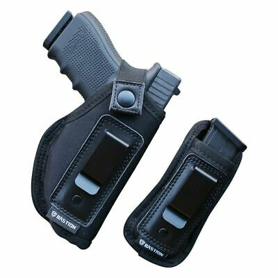 Bastion Universal IWB Pistol Holster For Concealed Carry Inside The Waistband