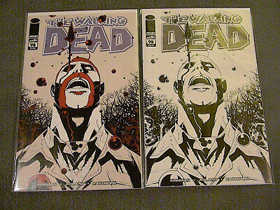 1 THE WALKING DEAD DAY 15th Anniversary 2003-2018 BLACK & WHITE VARIANT 98 / LOT