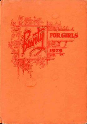 Bunty Book For Girls 1975 Annual