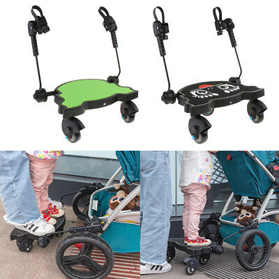 Comfort 3-Wheel Pushchair / Stroller /Buggy Step Board