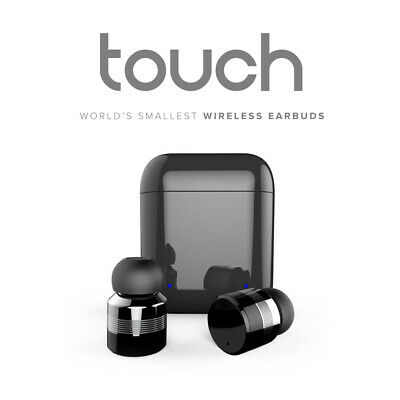 Touch Control Wireless Stereo Earbuds: 15+ Hours Bluetooth 5.0 NEW - DiiFA
