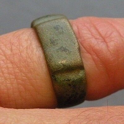 Ancient Jewelry Man's Ring Bronze? 2,000 Years Old Antique Roman Medieval ?????