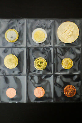 Great Britain Uncirculated Euro Coin Collection NO RESERVE!