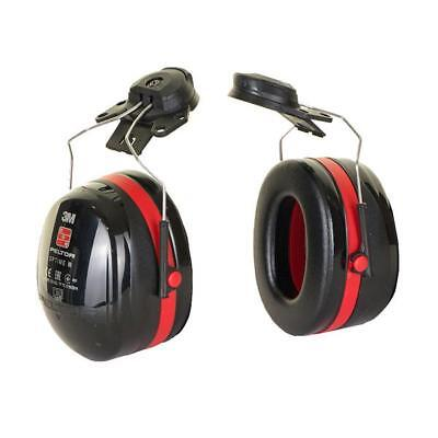 Peltor Optime 3 Helmet Mounted Ear Defenders 35dB Ref H540P3E-413-SV