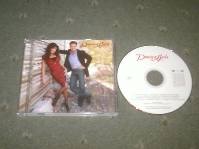 Donny And Marie Osmond Cd-The Osmonds Interest