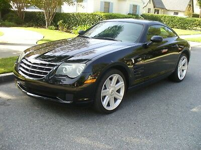 2006 Chrysler Crossfire BLACK tunning California Rust Free Chrysler Crossfire RARE 6 SPEED MANUAL MUST SEE