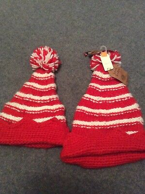Next Hand Knitted Hats Age 3-6 And 7-10