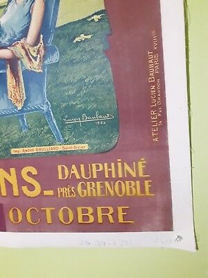ORIGINAL VINTAGE FRENCH Travel To Tahiti Poster - $99 99 | PicClick