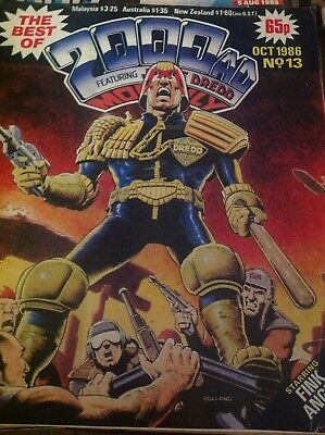 2000AD Monthly October 1986