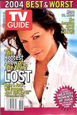 Tv Guide - Lost - Matthew Fox & Evageline Lilly Collector Cover Set Of 2