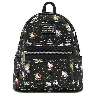 Loungefly Sanrio Hello Kitty Zodiac Faux Leather Mini Bag Backpack SANBK0339
