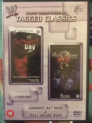 WWF WWE Tagged Classics - Judgement Day & Fully Loaded 2000 (DVD) RARE