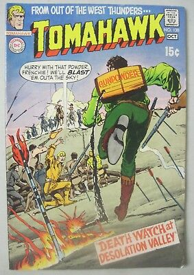 Tomahawk #130 October 1970 Dc Comics Neal Adams Cover Frank Thorne