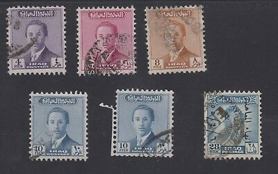 Iraq 5 Used Stamps.  See Description  [Lot 424C]