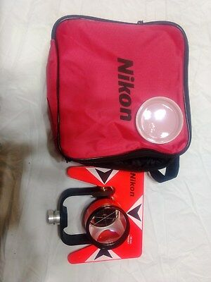 Nikon Single Prism With Bracket For Total Stations Surveying