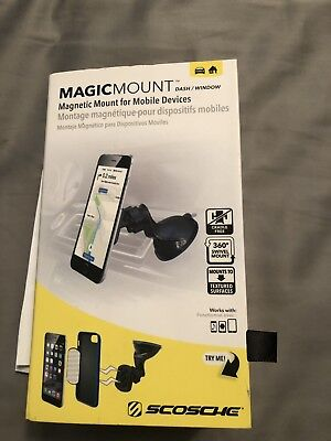 SCOSCHE MagicMount Dash Window Magnetic Mount Mobile MAGWSM2 NEW