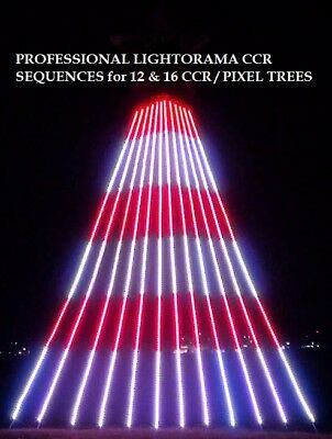 LIGHTORAMA SEQUENCE to COUNTDOWN TO NEW YEARS EVE 16 CCR or SMART PIXEL TREE
