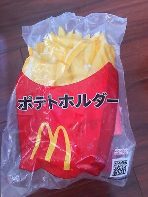McDonalds Japan Japanese French Fry Car Mount Cup Holder Unopened