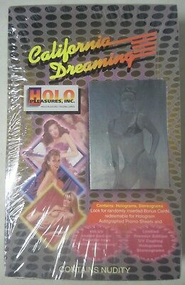 "Factory Sealed ""california Dreaming"" Holo Pleasures Trading Cards 36 Packs"