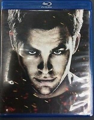 Star Trek (Blu-ray/2009/3-Disc Set) Spec. Ed. Digital Copy Chris Pine LIKE NEW