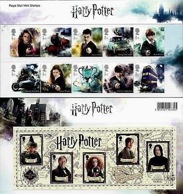 Gb 2018 Mint Harry Potter Presentation Pack 562 Stamps Booklet Minisheet Collect