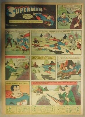Superman Sunday Page #36 by Siegel & Shuster from 7/7/1940 Tab Page: Year #1!