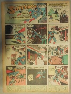 Superman Sunday Page #37 by Siegel & Shuster from 7/14/1940 Tab Page: Year #1!