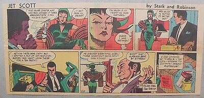Jett Scott Page by Jerry Robinson, Sheldon Stark from 4/24/1955 Third Page Size!