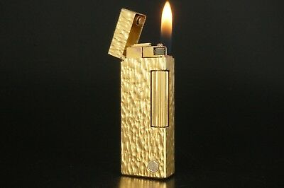 Dunhill Rollagas Lighter Refurbished NewOrings Working Over hauled Vintage #780