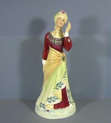 "8.5"" Figurine, Titled Ellen Terry, by Janus Studio, England, Ladies Of The Stage"