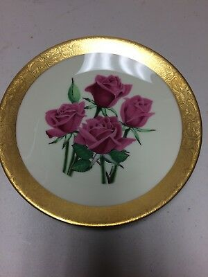Heritage House Miniature Rose Collector Plate #7