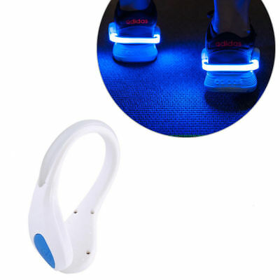 LED Luminous Shoes Light Clip Sports Night Running Jogging Warning Safety Lights