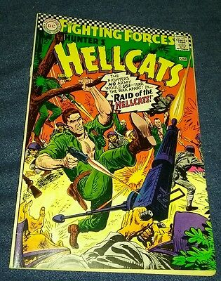 Our Fighting Forces Featuring Hellcats #107  1967 VG DC comic