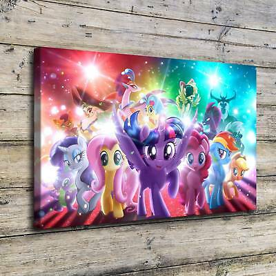 SR100667-My Little Pony Home Decor HD Canvas Print Picture Wall Art Painting