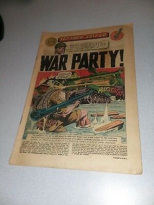 Our Army At War #151 sgt rock 1965 1st ap Enemy Ace DC War comics Silver Age Key