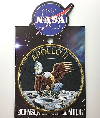 NASA APOLLO 11 MISSION PATCH Official Authentic SPACE 4in