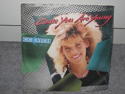 """Single C.C. Catch """"´Cause you are young/One Night´s not enough"""""""