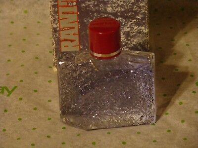 Vintage Avon Granite Men's After Shave Full 3 Oz Bottle In Box Avon 1990 NOS