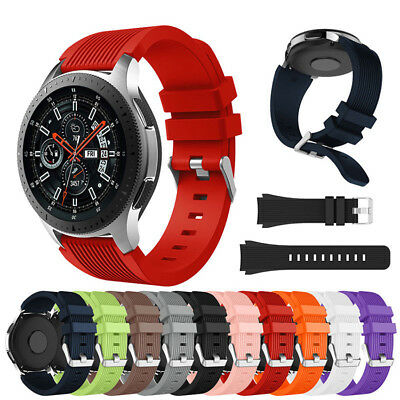 Replace Luxury Silicone Bracelet Strap Watch Band For Samsung Galaxy Watch 46mm