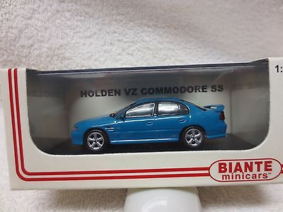 Vz Ss Holden Commodore Sedan Turismo Mica Blue Colour