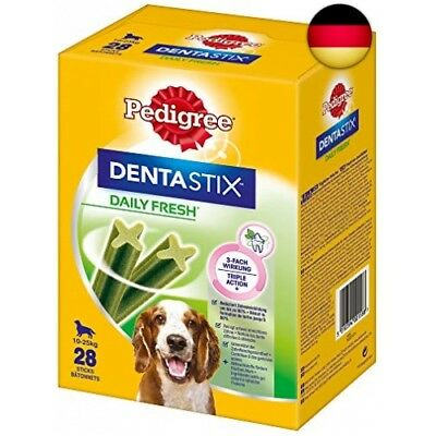 Pedigree Hundesnacks Hundeleckerli Dentastix Daily Fresh Zahnpflege 4, Packun...