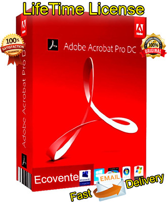 ✔️ADOBE ACROBAT PRO DC 2019 ✔️Software PDF FOR Windows ✔️LIFETIME ACTIVATOR