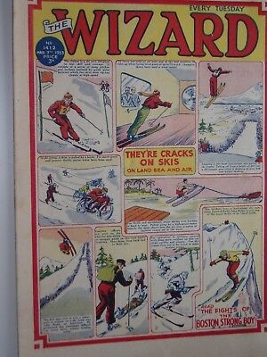 THE WIZARD Comic......D C Thomson....7th March 1953.....free postage