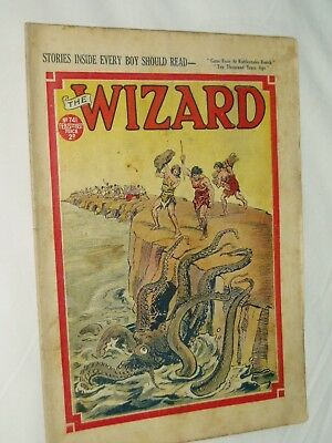THE WIZARD Comic......D C Thomson....13th February 1937...free postage