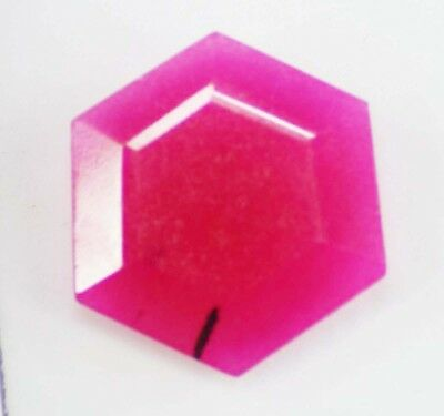 Natural 19.40 Ct Fine Cut Top Quality African Red Ruby Loose Gemstone