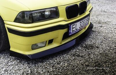 BMW E36 FATLIP V2 (front bumper lip) BY MUSK CUSTOMS