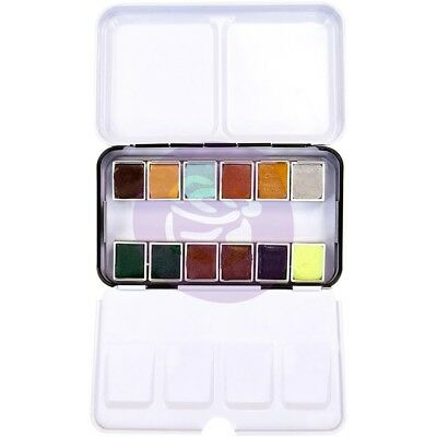 Prima Marketing Watercolor Confections Watercolor Pans 12/Pk - Essence