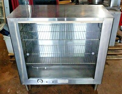 WONDEROASTER Commercial Heated Deluxe Display Holding Oven w/ 2 Racks - TESTED