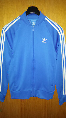 9de95baf3656 Originals Adidas Trefoil Jacke Gr. M Blau TOP Firebird TT Oldschool  Superstar
